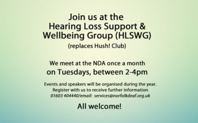 HLS Wellbeing Group 25th June